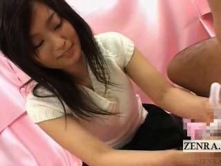 Subtítulo cfnm japan office lady soapy handjob entrevista