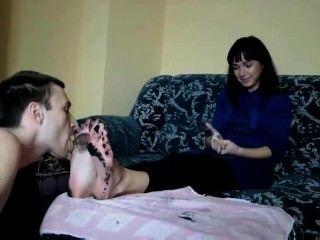 Adoración de pies sucios