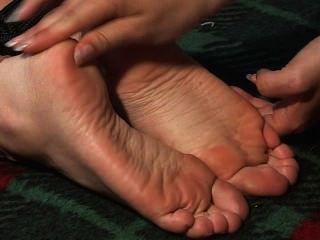 Adoración del pie parte 2