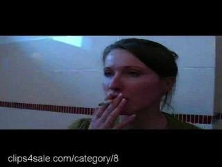 El mejor fetiche de fumar en clips4sale.com