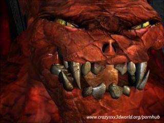 Demonio folla rubia
