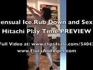 Sexy hielo frotar y hitachi tiempo de juego vista previa