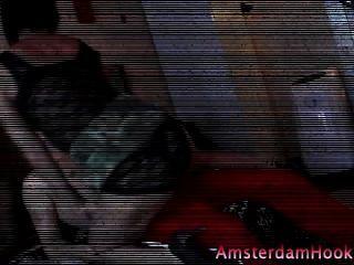 Rubia holandesa amateur cachonda puta