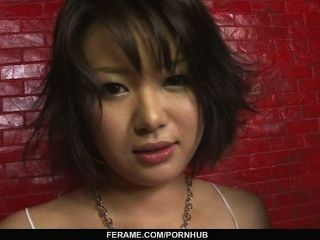 Kinky mujer amordazando duro pinchazos y doble penetrado