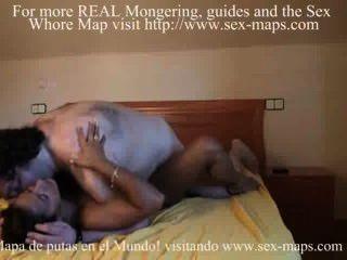 Prostituta española folla a su feo cliente