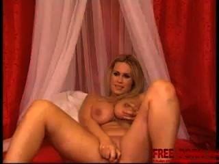 Chica agradable en la cámara web