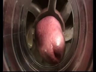 Cumming dentro de un fleshlight