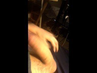 Jugando con mi polla gorda grande en mi webcam