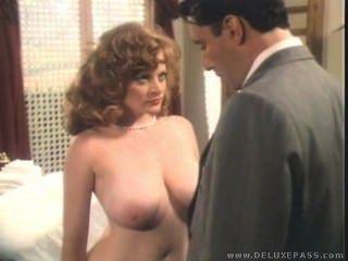 Lisa deleuw vintage blowjob, cum en los tits