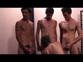 Escena 2 de la fiesta de bukkake gay