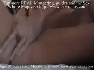 Puta argentina hace que un turista se sienta bienvenido