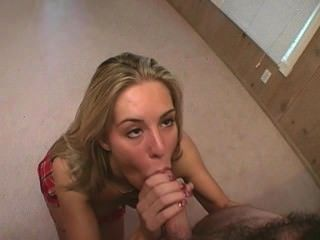April flowers pov deepthroat, bola lick cum en la boca