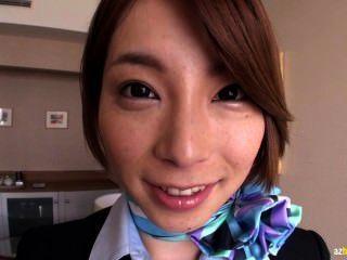 Tokyo azafata después de golpear el deber 1