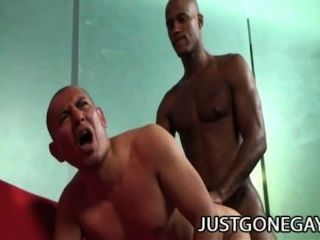 Antonio moreno y billy largo un encuentro anal interracial con 2 dilfs