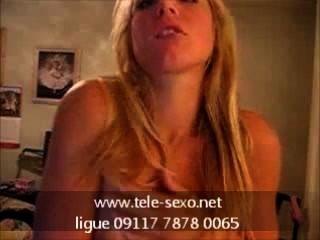 Rubia caliente playng con sus tetas tele sexo.net 09117 7878 0065