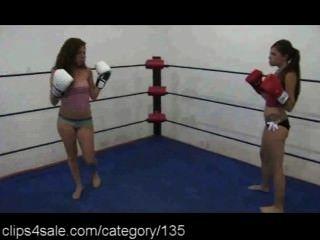 Boxeo femenino en clips4sale.com
