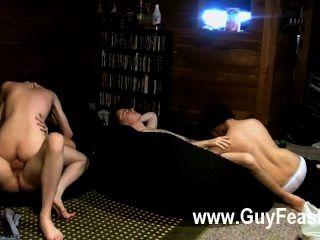 Hardcore gay trace van de kamp y erik tribold tienen un poco de una soiree