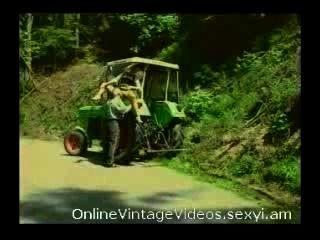 Caliente dru berrymore y el viejo agricultor