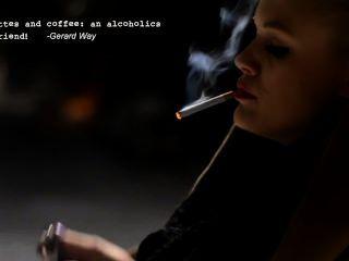 Mujer que fuma