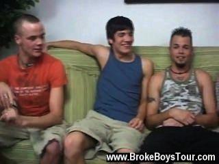 Increíble escena gay todos en el apartamento iba a hacer $ 1500 a