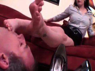 Adoración de pies sexy