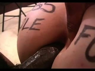 Amy chupa dick negro y se anal
