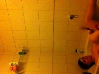 Bf me filma en el baño