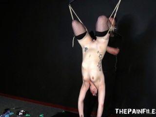 Sexo juguete dominación y suspensión bondage de kinky fetiche modelo isabel dean