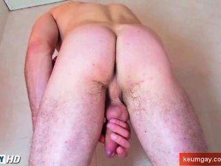Tomar una ducha con un chico muy sexy str8 con gallo hue!