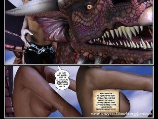 3D cómico: jinete del dragón.Episodios 2 3