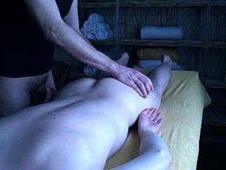 Experiencia de masaje de piedra sensual parte 2