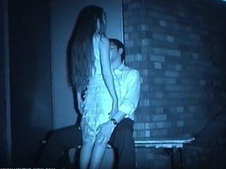 Infrarrojo voyeur noche sexo al aire libre