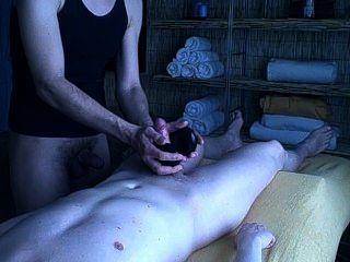 Sensual experiencia de masaje de piedra parte 3