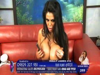 Holly james big bouncing tits