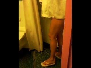 Espiando a mi esposa en la ducha