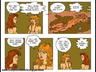 2d cómic: saga caliente