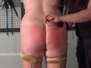 Chubby aficionado bdsm y lesbianas dominación de mousetrap pezón torturado grasa