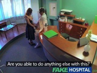 Fakehospital médicos compulasory chequeo de salud hace busty temporal hospita