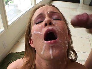 Adicto al esperma 6 sasha knox mega facial